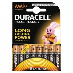 Pack de 8 piles AAA | 1,5 Volt - DURACELL Ultra Plus