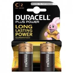Pack de 2 piles LR14 | 1,5 Volt - DURACELL Power Plus