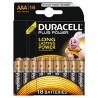 Pack de 18 piles AAA | 1,5 Volt - DURACELL Ultra Plus