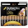 Pack de 18 piles AA | 1,5 Volt - DURACELL Ultra Plus
