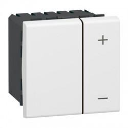 Inter variateur 400 Watts blanc Mosaïc - LEGRAND
