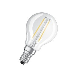 Pack de 2 ampoules LED E14 2,8 Watts blanc froid - OSRAM