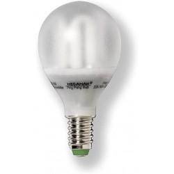 Ampoule fluocompacte E14 7 Watts 230 Volts - MEGAMAN 01158