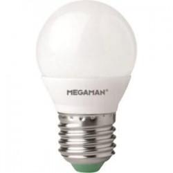 Ampoule fluocompacte E27 7 Watts 230 Volts - MEGAMAN 03111