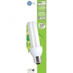 Ampoule fluocompacte E27 20 Watts 230 Volts - GENERAL ELEC 887 182