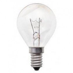 Pack de 2 ampoules incandescentes E14 60 Watts 230 Volts - PHILIPS 026 576