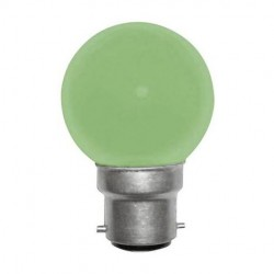 Ampoule incandescente verte B22 15 Watts 230 Volts - PHILIPS 173 096