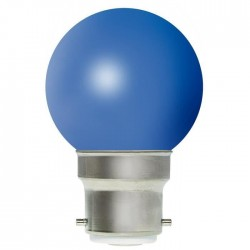 Ampoule incandescente bleue B22 15 Watts 230 Volts - PHILIPS 173 126