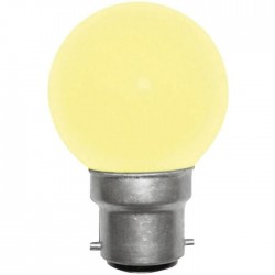 Ampoule incandescente jaune B22 15 Watts 230 Volts - PHILIPS 173 157