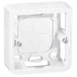Cadre saillie blanc 2 modules Mosaïc - LEGRAND