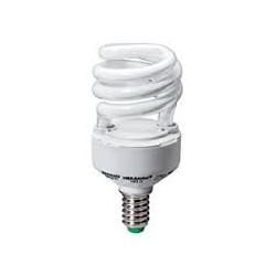Ampoule éco fluo E14 - 11 Watts - 230 Volts - MEGAMAN