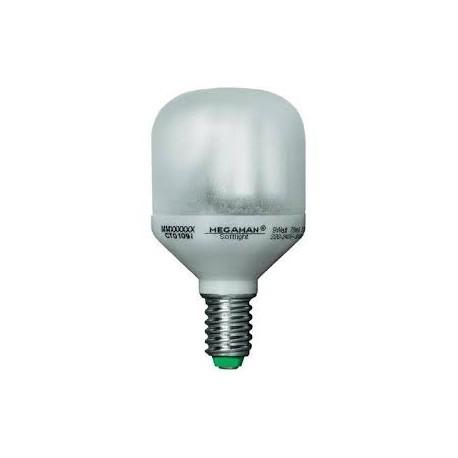 Ampoule éco fluo E14 - 9 Watts - 230 Volts - MEGAMAN