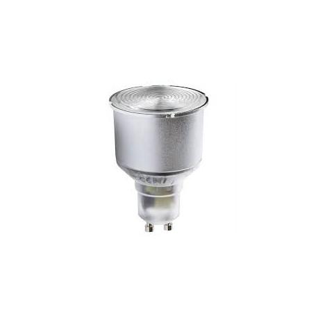 Ampoule éco fluo GU10 - 11 Watts - 230 Volts - MEGAMAN