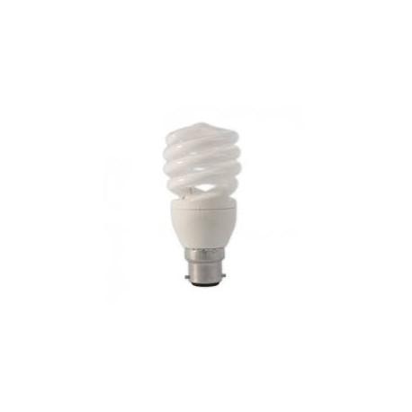 Ampoule éco fluo B22 - 12 watts - 230 Volts