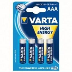 Lot de 4 piles AAA - 1,5 Volt - VARTA