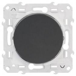 Interrupteur anthracite (couleur noir) Odace - SCHNEIDER ELECTRIC