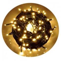 Guirlande lumineuse de Noël 6 mètres 120 LED blanches / jaunes