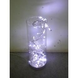 Décoration lumineuse de Noël 32 LED blanches