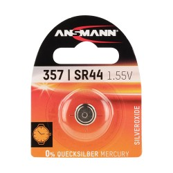 Pile 357 | SR44 | 1,55 Volt - ANSMANN