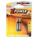Pack de 2 piles AAAA | 1,5 Volt - ANSMANN