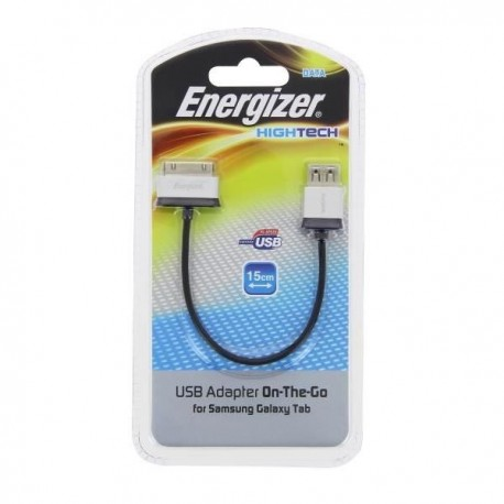 "Adaptateur ""HIGHTECH"" ENERGIZER pour Galaxy Tab"